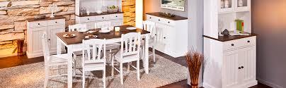 inter link fsc kommode kiefer massivholz weiß sepia braun landhausstil 3 türen 3 schubladen esszimmer wohnzimmer