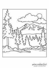 Wonderful Campfire Coloring Pages Printable With Camping