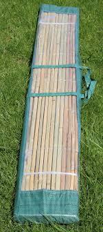 bambusmatte 3m x 1 5m bambus sichtschutzmatte zaun sichtschutz matte geschnitten