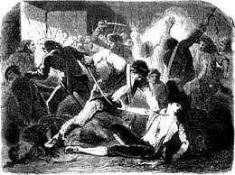 Dickens Described The September Massacres In Grindstone Scene Of A Tale Two Cities Non Juring Priests Were Particularly Targetted