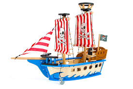 100 Design A Pirate Ship Mazoncom Small Foot 10469 Jack Toy Toys Games