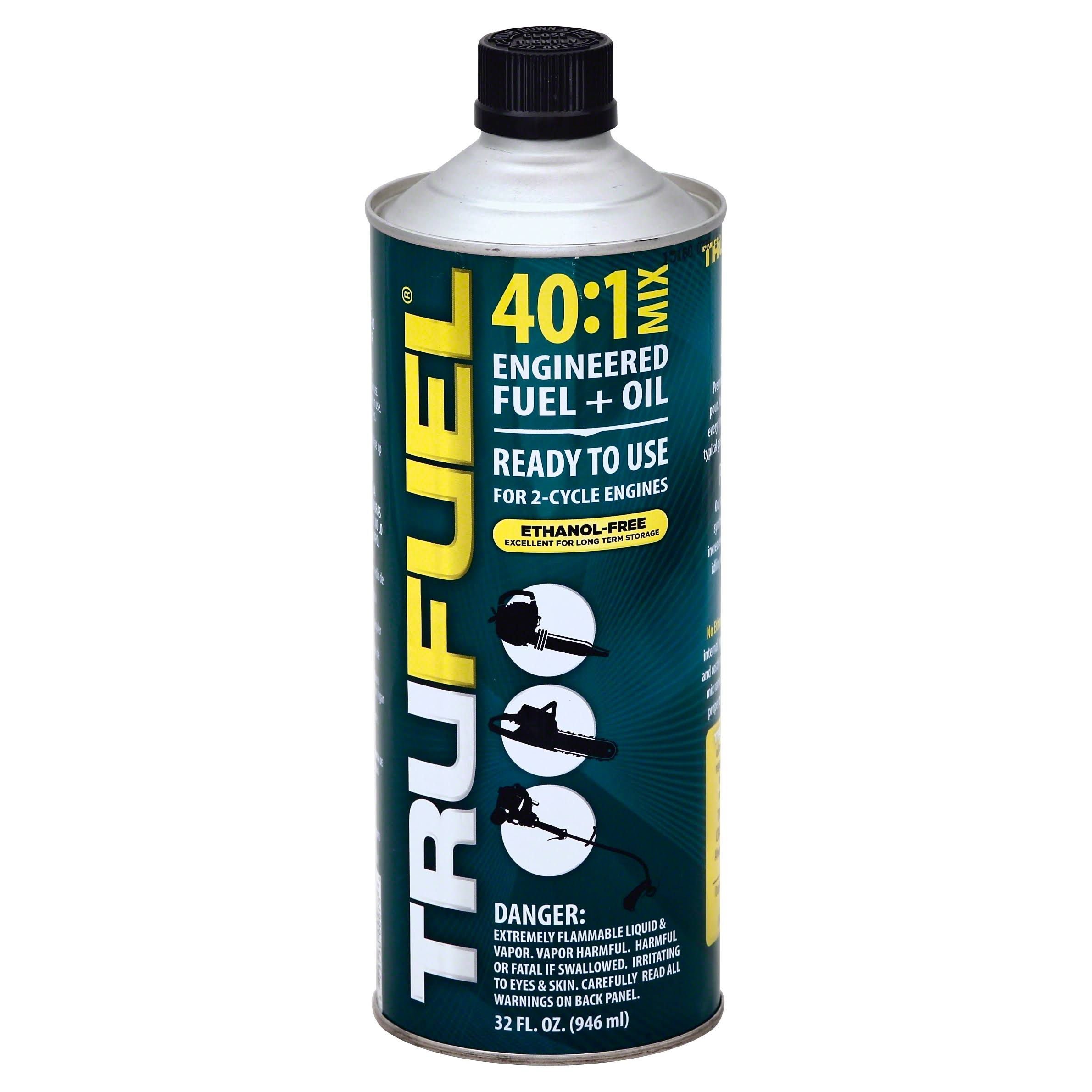 TruFuel 2-Cycle Pre-Blended Fuel - 32oz