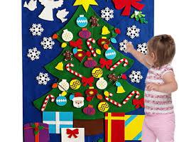 Christmas Tree Books Diy by Felt Christmas Tree Etsy