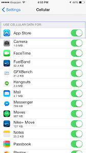 How to check your data usage on iOS 9 iPhone 6s tutorial
