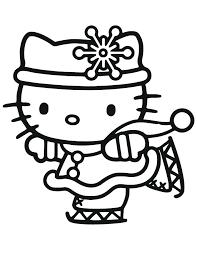 Hello Kitty Ice Skating