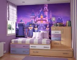 papier peint fille chambre chambre enfant papier peint enfant personnalisé lilas château