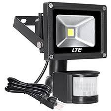Motion Sensor LED Flood Light 760 Lumens Daylight White LTE 10W