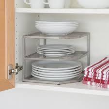 seville classics corner kitchen cabinet organizer 15