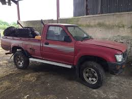 Toyota Hilux 2.4D NON Turbo 4x4 4wd Pickup Truck Single Cab N Reg ...
