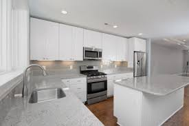kitchen backsplash contemporary light gray countertops white