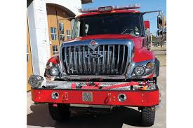 6 The Front Bumper On Flower Mounds Pierce Type 3 WUI Engine Has 150 Feet Of
