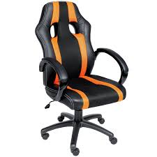 Acrylic Office Chair Uk by Office Chair Gaming Desk Swivel Computer Chair High Back Pu Racing