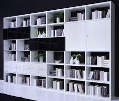 wohnzimmer regalwand weiß living room designs room