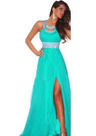 women u0027s long sequins slit bridesmaid evening party prom chiffon