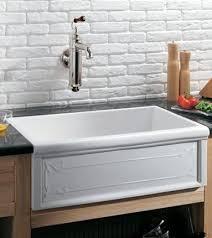 Whitehaus Farm Sink Drain by Fireclay Sinks By Kohler Whitehaus U0026 Herbeau