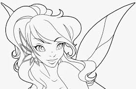 Printable Fairy Coloring Pages 25