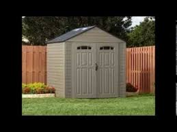Rubbermaid 7x7 Storage Building Assembly Instructions by Rubbermaid Storage Shed Youtube