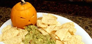Vomiting Pumpkin Dip by Halloween Party Food To Gross Out Your Guests