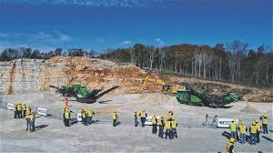100 Beelman Trucking Sandvik Pit Quarry