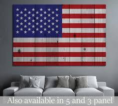 American flag №670 Canvas Print