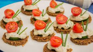 cucumber canapes tuna and cucumber canapés with wasabi seafood experts