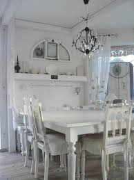 Country Dining Room Decorating Ideas Pinterest by Dining Room White Grey Black Chippy Shabby Chic Whitewashed