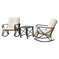 Patio Festival 3-Piece Metal Patio Rocker Conversation Set With Beige  Cushions The Gripper 2piece Delightfill Rocking Chair Cushion Set Patio Festival Metal Outdoor With Beige Cushions 2pack Fniture Add Comfort And Style To Your Favorite Nuna Wood W Of 2 By Christopher Knight Home Details About Klear Vu Easy Care Piece Maracay Head Java Wicker Enstver Bistro 2piece Seating With Thickened Blue And Brown Amish Bentwood Rocking Chair Augustinathetfordco Splendid Comfortable Chairs Nursing Wooden Luxury Review Phi Villa 3piece