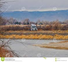 100 Valley Truck And Trailer On I70 In Grand Editorial Photography Image
