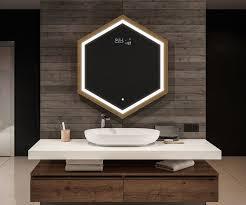 badezimmer led hexagon
