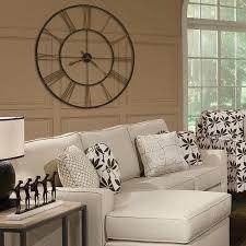 Clocks Wall Decor Wayfair Vintage With Black Wooden Clockwise In