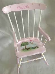 Toddlers Rocker, Child's Rocking Chair, Hand Painted Kids Rockers ...