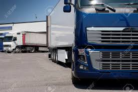 100 Logistics Trucking Truck With Long Trailer And Stock Photo Picture