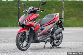 Now Yamaha Already Has A Fairly Nice Scooter In The 150 Cc Class NMax However For Younger And Young At Heart Rider NVX With Its Sharper