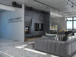 100 Loft Interior Design Ideas Industrial Apartment With Elegant Dark Modern