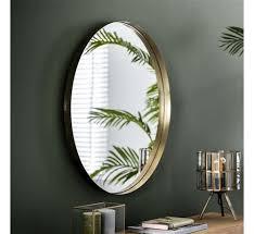 design spiegel june rund ø75 cm gold