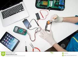 IPhone repairing editorial stock image Image of mobile