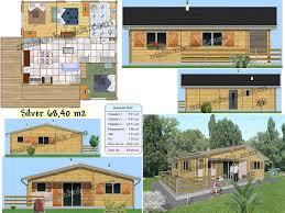 chalet maison en kit plan gratuit de maison en bois en kit