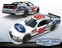 Stewart-Haas Racing To Field Ford Mustang For Chase Briscoe In Five ...