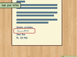 How To Write A Spanish Letter 14 Steps With Pictures WikiHow