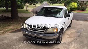 100 2001 Ford Truck F150 Set Clock For Daylight Savings Time YouTube