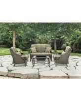 Patio Furniture Conversation Sets With Fire Pit by Fire Pit Sets Outdoor U0026 Patio Conversation Sets Bhg Com Shop