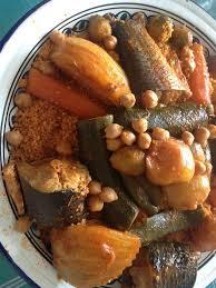 recette cuisine couscous tunisien couscous tunisien au poisson
