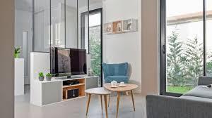 tv dans cuisine meuble tv meuble télé déco salon avec télé côté maison