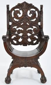 Antique American Robert Mitchell High Back Mahogany Arm Chair, Circa ... Rare Antique 19th Century American Gothic Handcarved Solid Oak High Back Black Leather Upholstered His Her Throne Chairs Vintage Handcarved Cane Highback Hooded Chair Set Of 8 62 Arts And Crafts Carved Oak Ding Chairs High For Kitchen Table Spanish Conquistador Contemporary Carved Wood Side 43 Sandy Brown Linen Natural Cedar Accent 31092775 About Us Italian Renaissance Style 20th Cent Mahogany Throne Chair With Lion Arms A Back Crest Stretcher Brown Country Armchair C Spning Bedroom Seating Russian Arm Newel Bishops Occasional Blue Lion