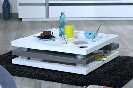 table basse laquee blanc table basse design blanc laquac 80