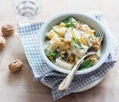 pâtes cinque buchi au gorgonzola noix et poires zavan