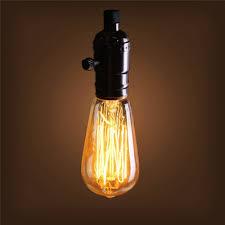 40w e27 st58 edison bulb antique filament l retro vintage light
