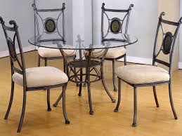 Crate And Barrel Dining Table Chairs by Kitchen Glass Kitchen Table And 45 High Bistro Table Crate And