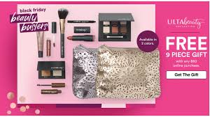 Ulta B1G1 Gifts + Free 9 Piece Gift Set With $60 Purchase ... Ulta Cyber Monday Sale Free 22piece Gift Advent Calendar On Free 10 Pc Lip Sampler With Any 75 Online Purchase 21 Days What I Just Bought At Ulta 3 By Linda Issuu Why Do So Many Coupon Sites Post Expired Promo Codes Hokivin Mens Long Sleeve Hoodie For 11 Ulta Beauty Coupons 100 Workingdaily Update September 2018 Cultures Health Coupons 20 Off Everything Coupon Is Having A Major Sale Before Black Friday 76 Items Under 5 Clearance Sale Get Shipping On Your Purchase Limit One Use Per Customer