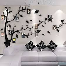 Image Is Loading Black Modern 3D Wall Stickers Photo Frame Family